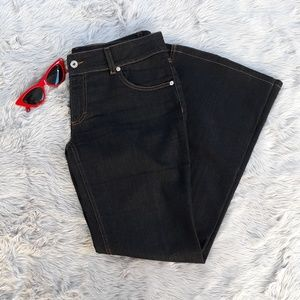 Dolce and Gabbana Low Rise Flared Jeans